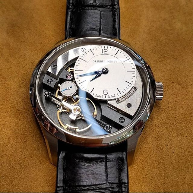 Greubel Forsey Signature 1 from @syn_chronus. At about $200,000AUD it's the world's most expensive time-only watch, but in the world of absurd relativity it's also Greubel Forsey's most affordable (!!!) piece.  Movement: 5/5 Aesthetics: 5/5 Wearability: 4/5 Affordability: 1/5
