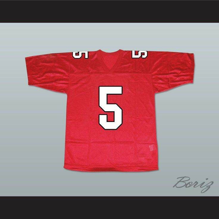 """Finn Hudson 5 William Mckinley High School Football Jersey. I HAVE ALL SIZES and can change Name and Number(Width of your Chest)+(Width of your Back)+ 4 to 6 inches to account for space for a loose fit.Example: 18"""" wide chest plus 18"""" wide back plus 4"""" of space, would be a size 40"""".Please consider ordering a larger size, if you plan to wear protective sports equipment under the jersey.size chart chest:XS 30""""-32"""" Chest Measurement (76-81 cm)S 34""""-36"""" Chest Measurement (86-91 cm)M 38""""-40""""…"""