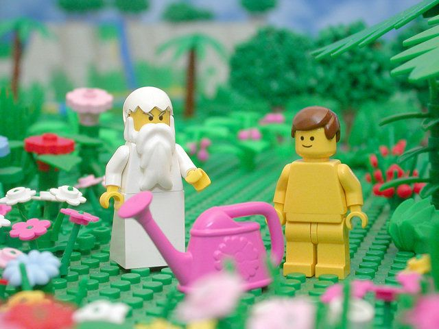 Bible stories through Legos. Amazing!