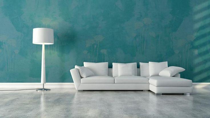 Варианты оригинальной покраски стен