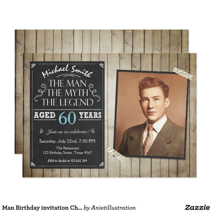 98 best Birthday Invites: 60th images on Pinterest   Invitation ...