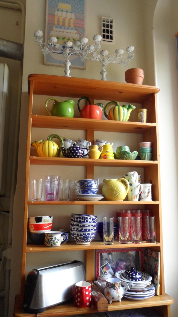 in my kitchen in France