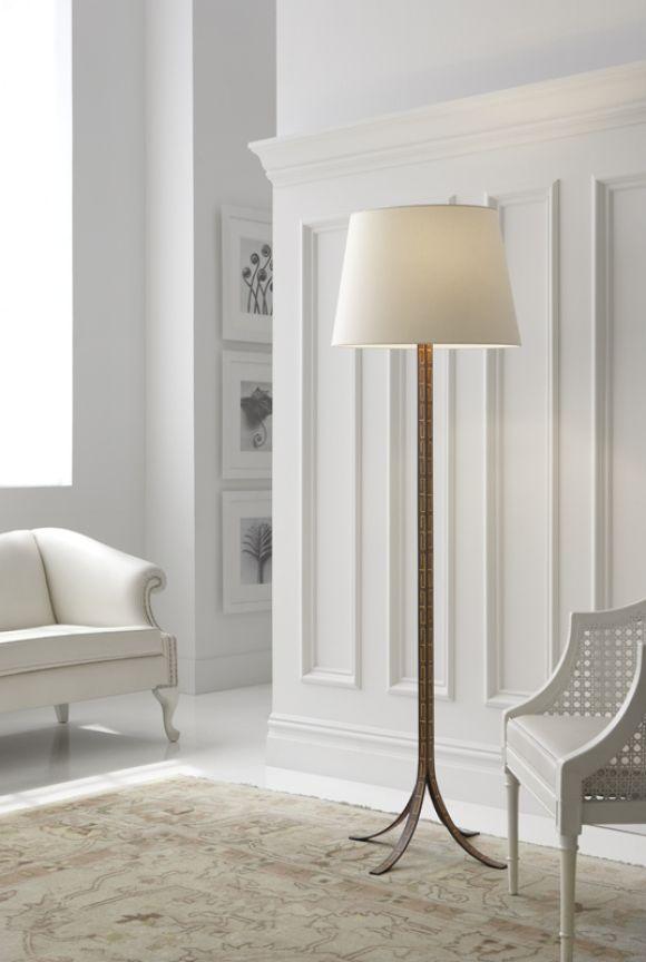 Designer Spotlight: John Rosselli | Makis Floor Lamp | shop now: http://www.circalighting.com/details.aspx?pid=4133