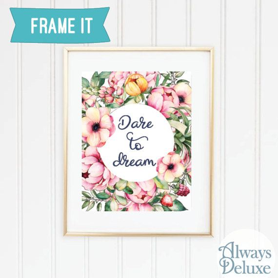 downloadable art Dare to dream  8x10 inches by AlwaysDeluxe