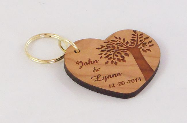 Our Wedding Day Gold Silver Rings Favours Personalised Love Hearts Just Married