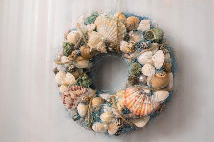 Венок в морском стиле/Sea themed wreath