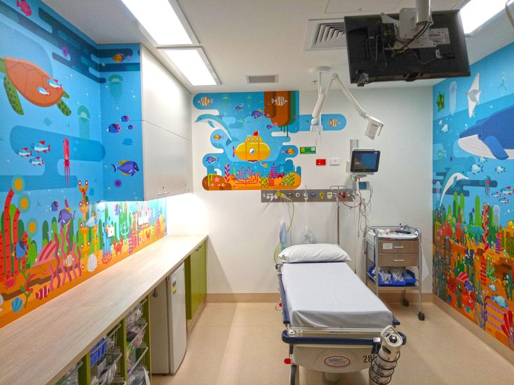 Tamworth Regional Hospital Pediatric Unit. Created by Roomscape.