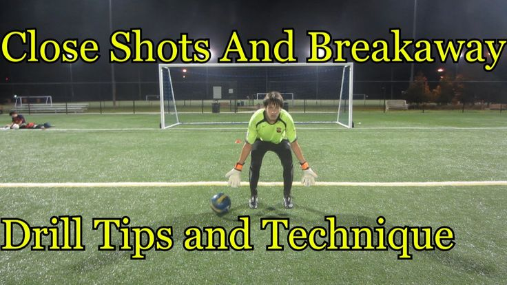 Goalkeeper Training:  Close shots drills & tips  [TO LOOK LATER]