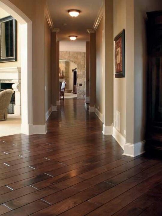 Hallway hardwood floors