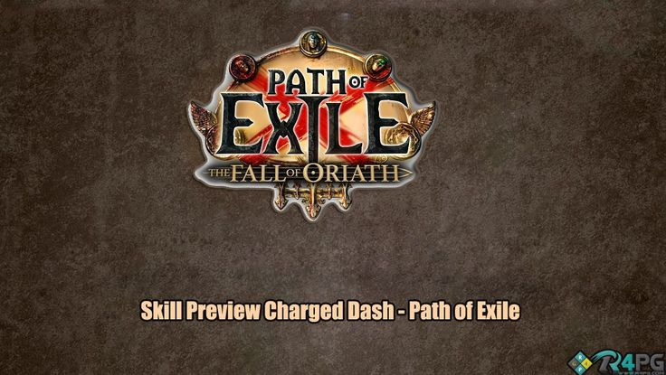 Path Of Exile Charge Dash Skill Preview