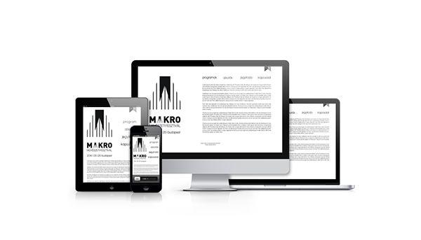 makro-mikro brand design project: the website edition :)