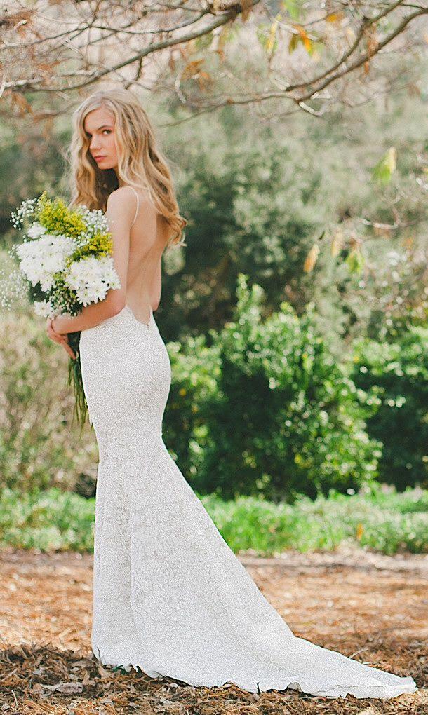 192 best Mermaid Wedding Dress images on Pinterest   Short wedding ...