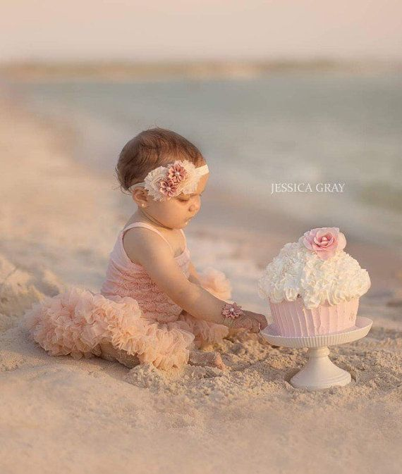 Baby girl first birthday dress. Girls cake smash by KadeesKloset