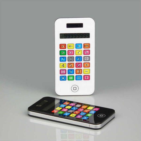 iPhone Görünümlü Hesap Makinesi