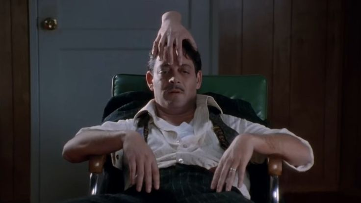 Image result for addams family values the hand