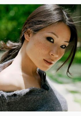 Raxion Media | Style Ideas: Lucy Liu Freckles