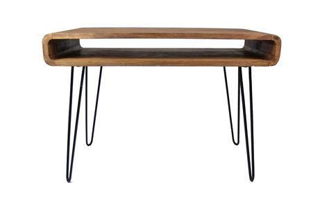 Elegantes Mid Century Designfür eine lebendiges Wohnen! Das Holz mit der eleganten Maserung überzeugt mit enormer Widerstandsfähigkeit – drinnen wie draußen. Hinzu kommt der helle, edle Look und ein wunderbar natürlicher Ton....