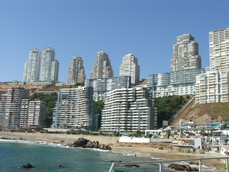 Vina del Mar, Chile (amazing all these buildings with the earthquakes)