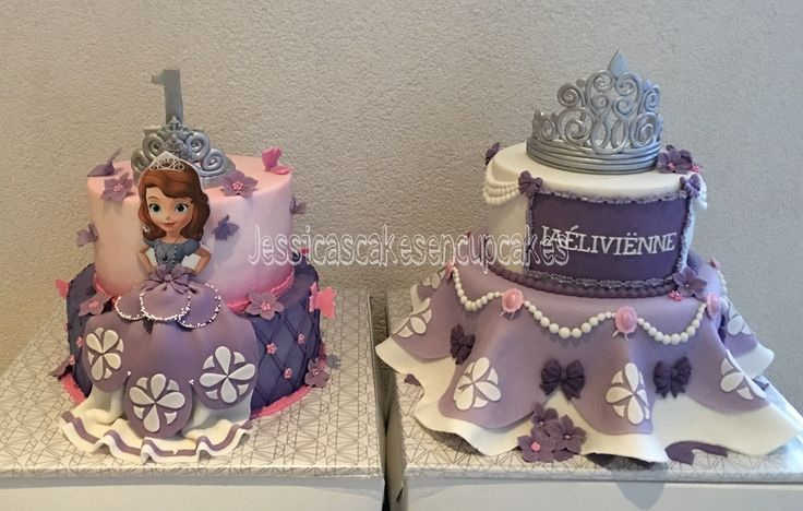 Princes Sophia birthday cake