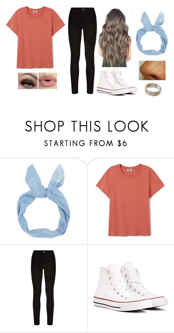 """""""Untitled #1492"""" by shealin ❤ liked on Polyvore featuring Paige Denim, Converse, Cartier and Sephora Collection"""