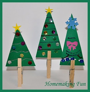 dressing the tree - defiantly doing with molly, and wouldn't this be a great preschool class craft