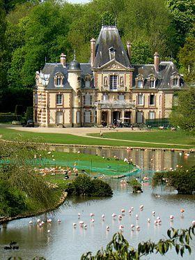 Château de Sauvage - Émancé, Yvelines, île-de-France, France