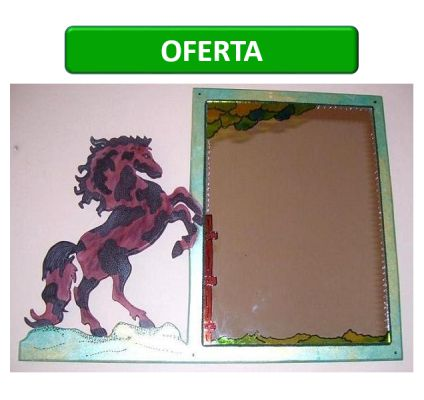 www.claf.cl Espejo Diseño Caballo