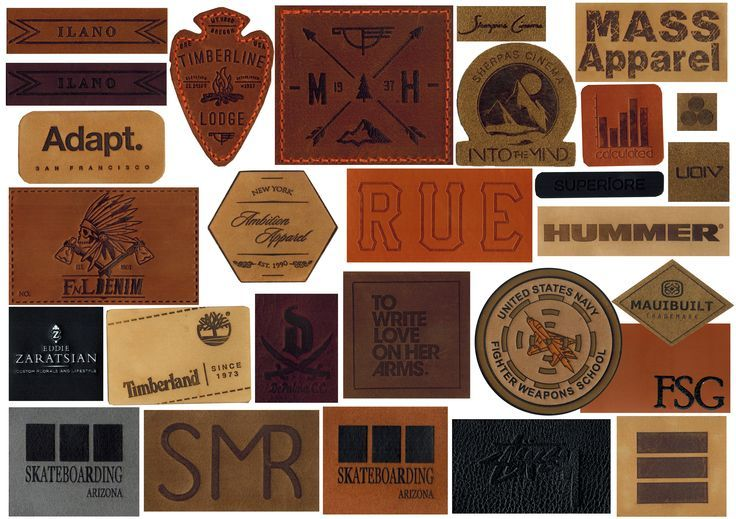Leather PATCHES also done by CBF Labels. Check out the intricacies of the #leather #patches. Exclusively by #CBF