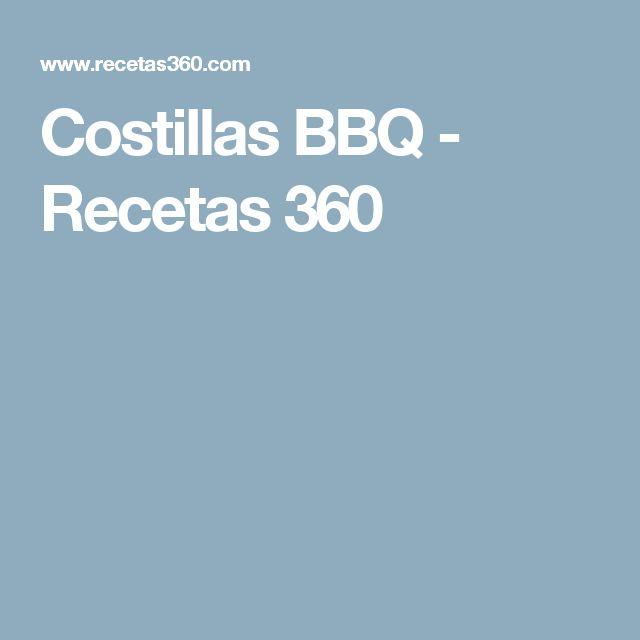 Costillas BBQ - Recetas 360