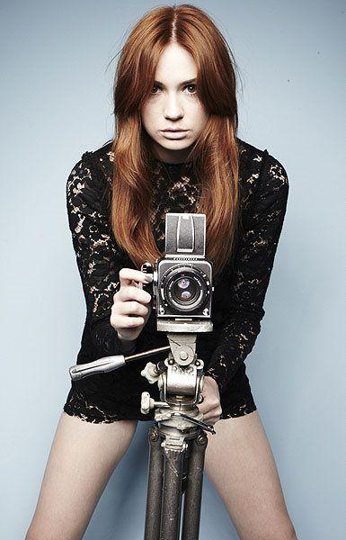 Exclusive Karen Gillan cover shoot pictures