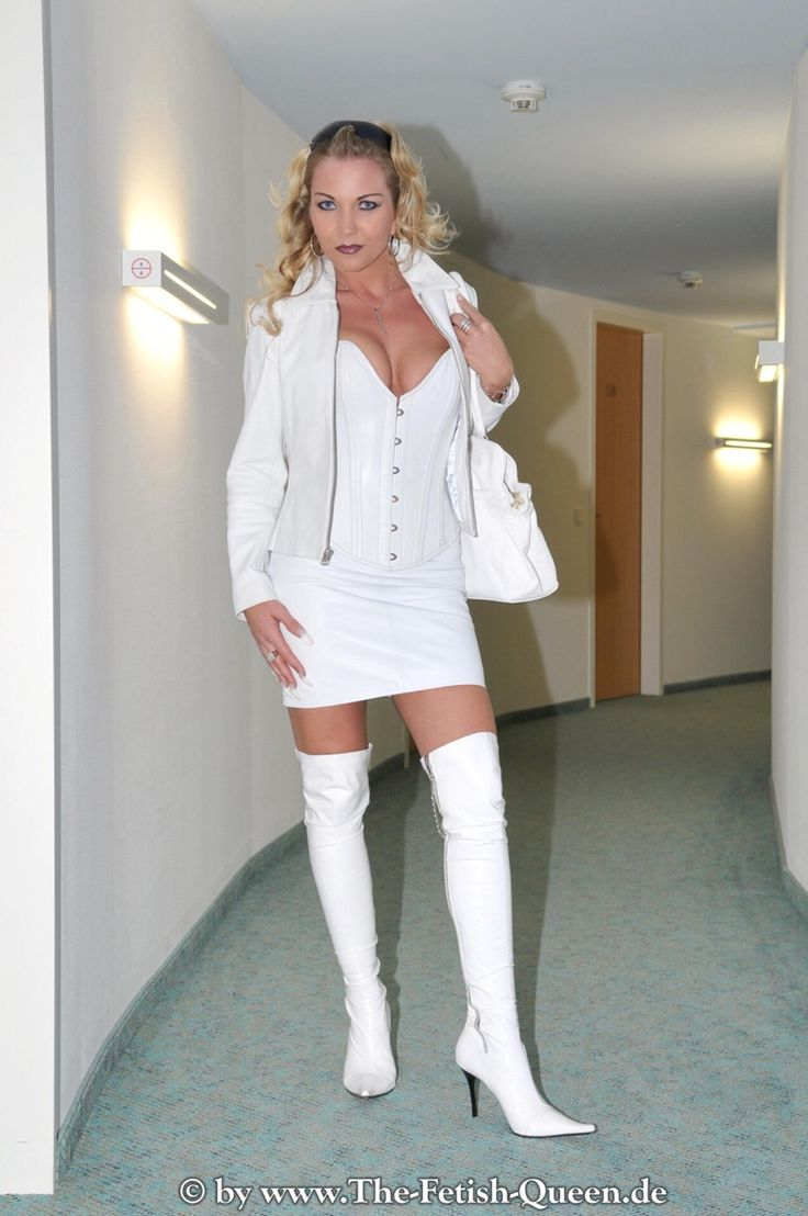 Seeing Beauty Fashion Boots Leather Corset
