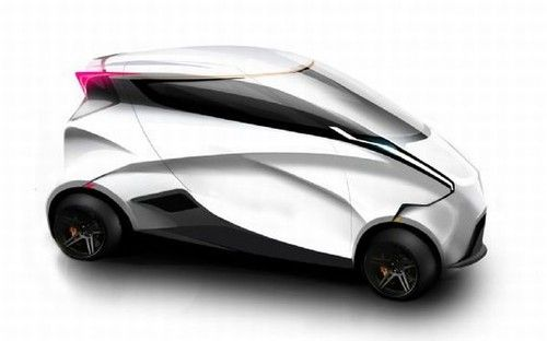 future vehicle, Lotus World Car Concept
