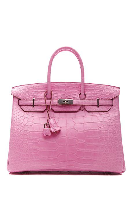 35Cm Matte 5P Bubblegum Pink Alligator Birkin by Heritage Auctions Special Collections for Preorder on Moda Operandi