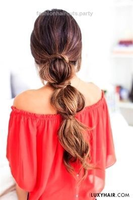 3 Lazy Hairstyles for Lazy Days perfect easy hairstyles for lazy days www.fash