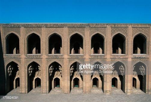 Stock-Foto : Inner courtyard, Abbasid palace (1179-1225), Baghdad, Iraq