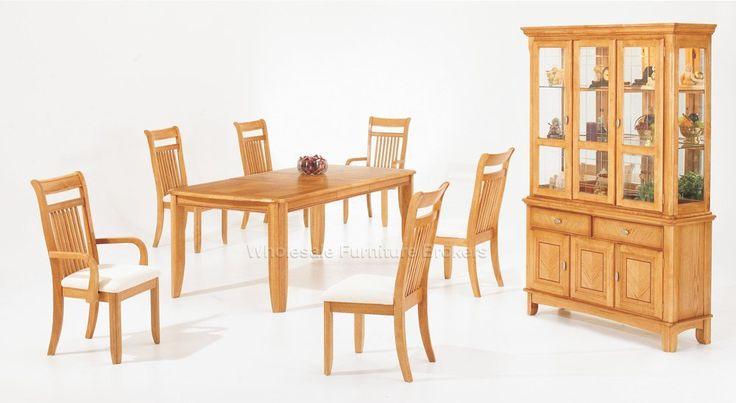 Light Oak Dining Room Set - Interior Paint Colors for 2017 Check more at http://1pureedm.com/light-oak-dining-room-set/