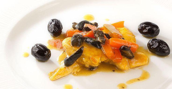 Ricetta Pollo al curry con olive al forno di Castelvetrano - Ricette con le Olive