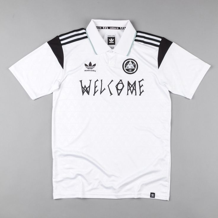 Adidas X Welcome Skateboards Jersey - White