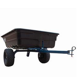 OxCart 12 Cubic Foot Poly Dump Cart w/ Power Assist & Swivel Dump - Model: GTM 2000