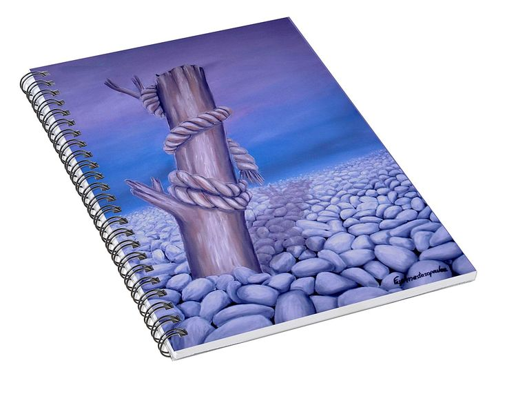 Spiral Notebook,  stationery,school,supplies,cool,unique,fancy,trendy,awesome,beautiful,design,unusual,modern,artistic,for,sale,items,products,office,organisation,nature,tree,rocks,purple,lavender