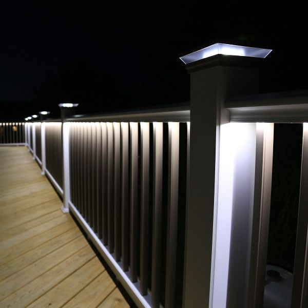 Under Rail Led Strip Light By Lmt Mercer In 2020 Deck Stair Lights Led Strip Lighting Outdoor Deck Lighting