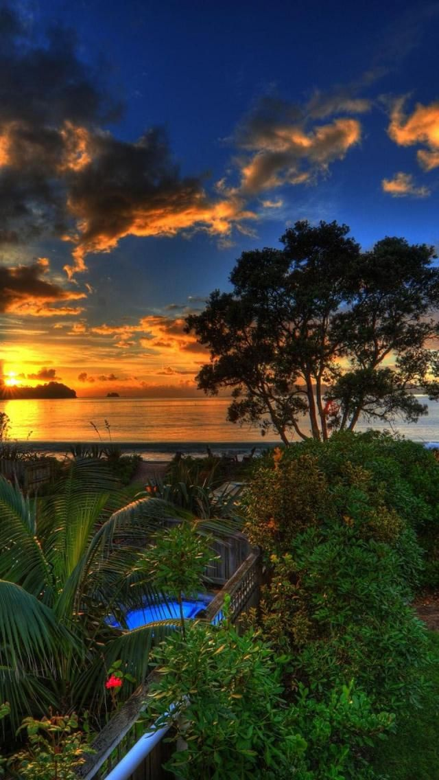 Whitianga, Sunset, Coromandel, North Island, New Zealand