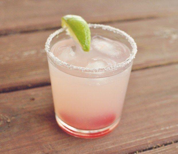 Make a slip 'n' slide with cherry vodka, lemonade, and lots of lime juice.