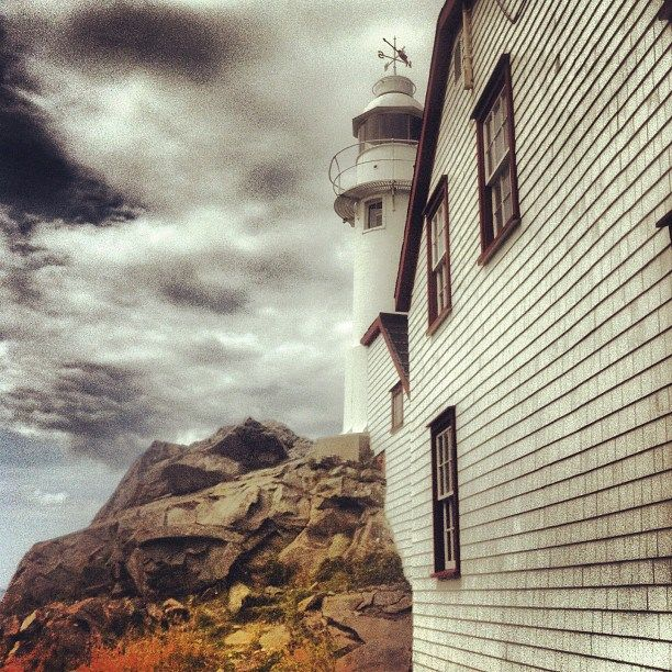 Lobster Cove Head lighthouse in Gros Morne National Park