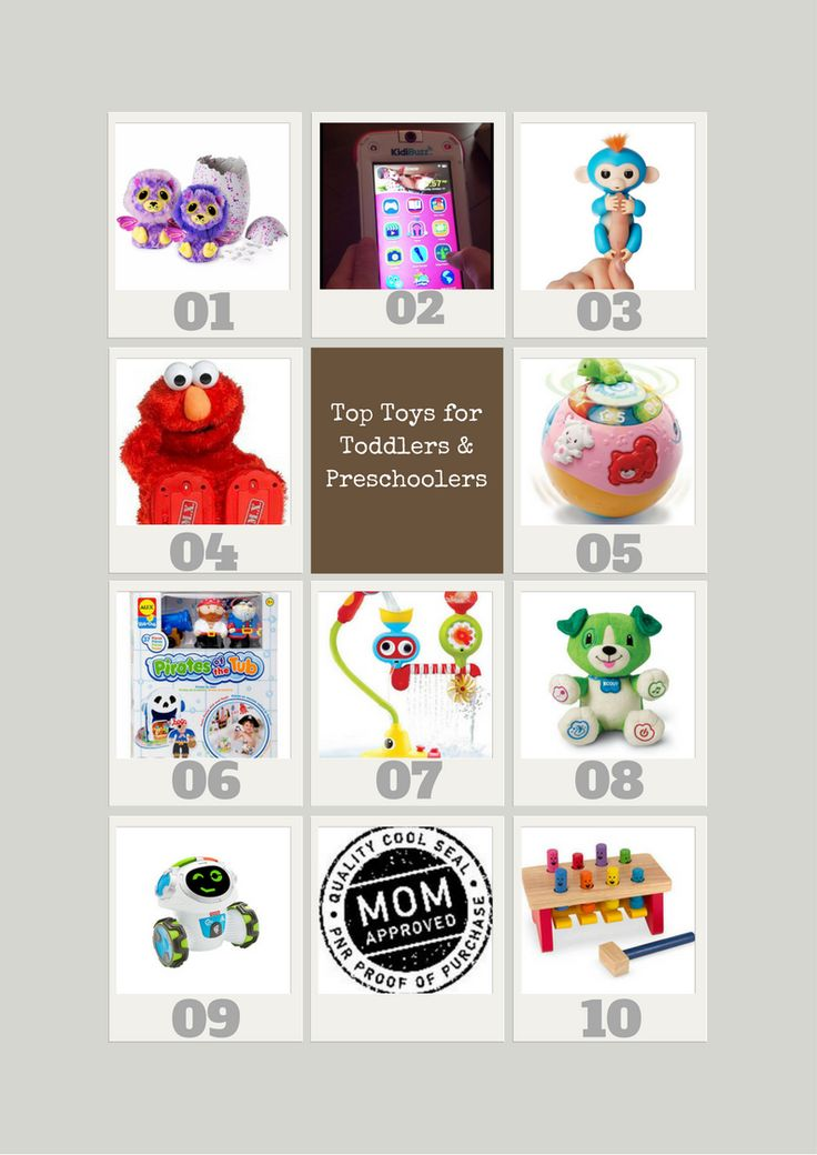 Top 10 Toys For Toddlers