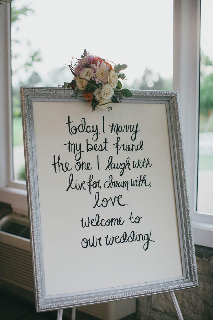 Today I Marry My Best Friend Wedding Programs