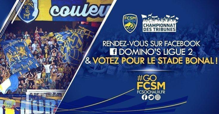FC Sochaux-Montbéliard FC SOCHAUX GREEK FANS  #GOFCSOCHAUX #SUPPORTERS #VOTEZ  📩 Supporters des Jaune et Bleu, il est temps de voter pour la dernière fois de la saison pour le Stade Auguste-Bonal dans le Championnat des Tribunes de la Domino's Ligue 2.  ► https://contest-tkuoeq.xg1.li