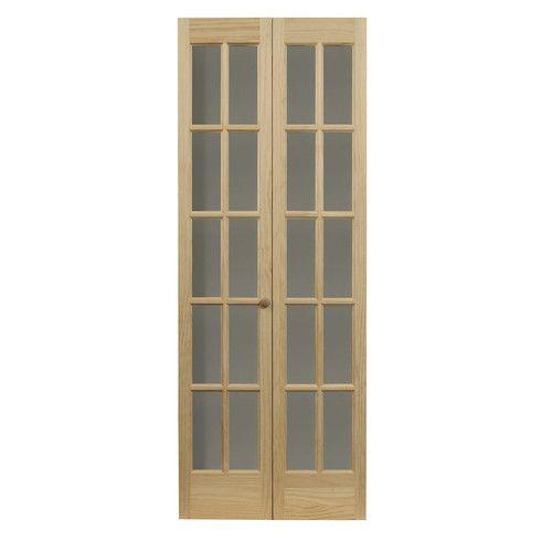 Elegant Found it at Wayfair Wood Bi Fold Interior Door