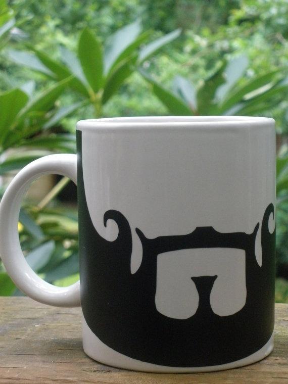 Seneca Crane's beard mug. (: