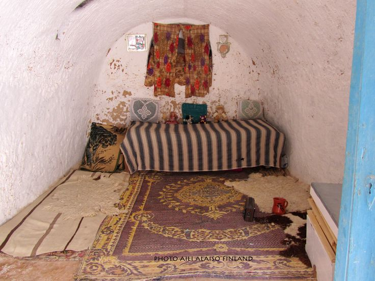 Cave dwelling, Berber village  Matmata  Tunisia Africa Photo by Aili Alaiso Finland